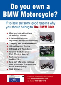 BMW Club Poster 2011 200
