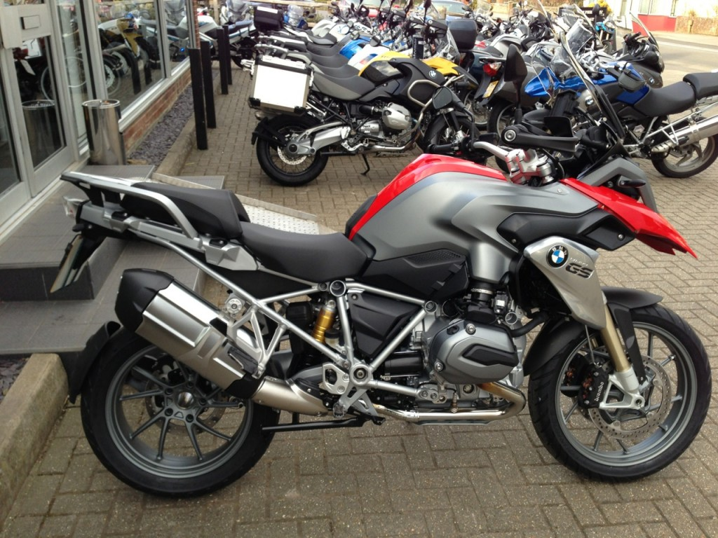 New R1200GS Exhaust