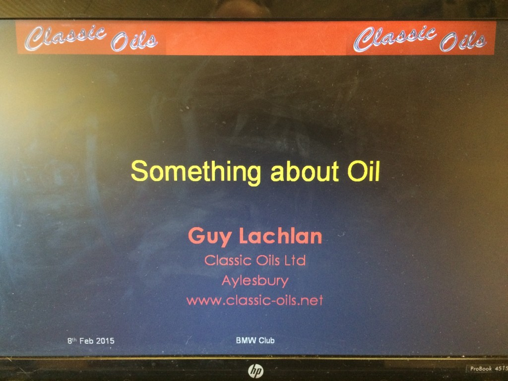 Something about Oil
